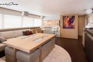 Luxury yacht The Next Episode - Saloon